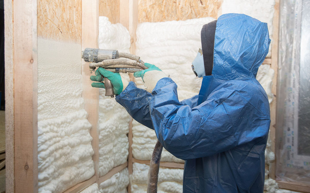 Fiberglass and Spray Foam Insulations are Great Choices for Creating More Energy Efficient Homes